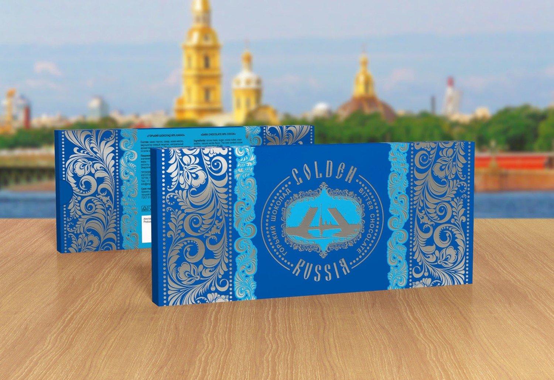 Шоколад «Золотая Россия. Санкт-Петербург»