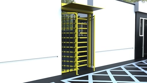 Full Height Single Pedestrian Turnstile