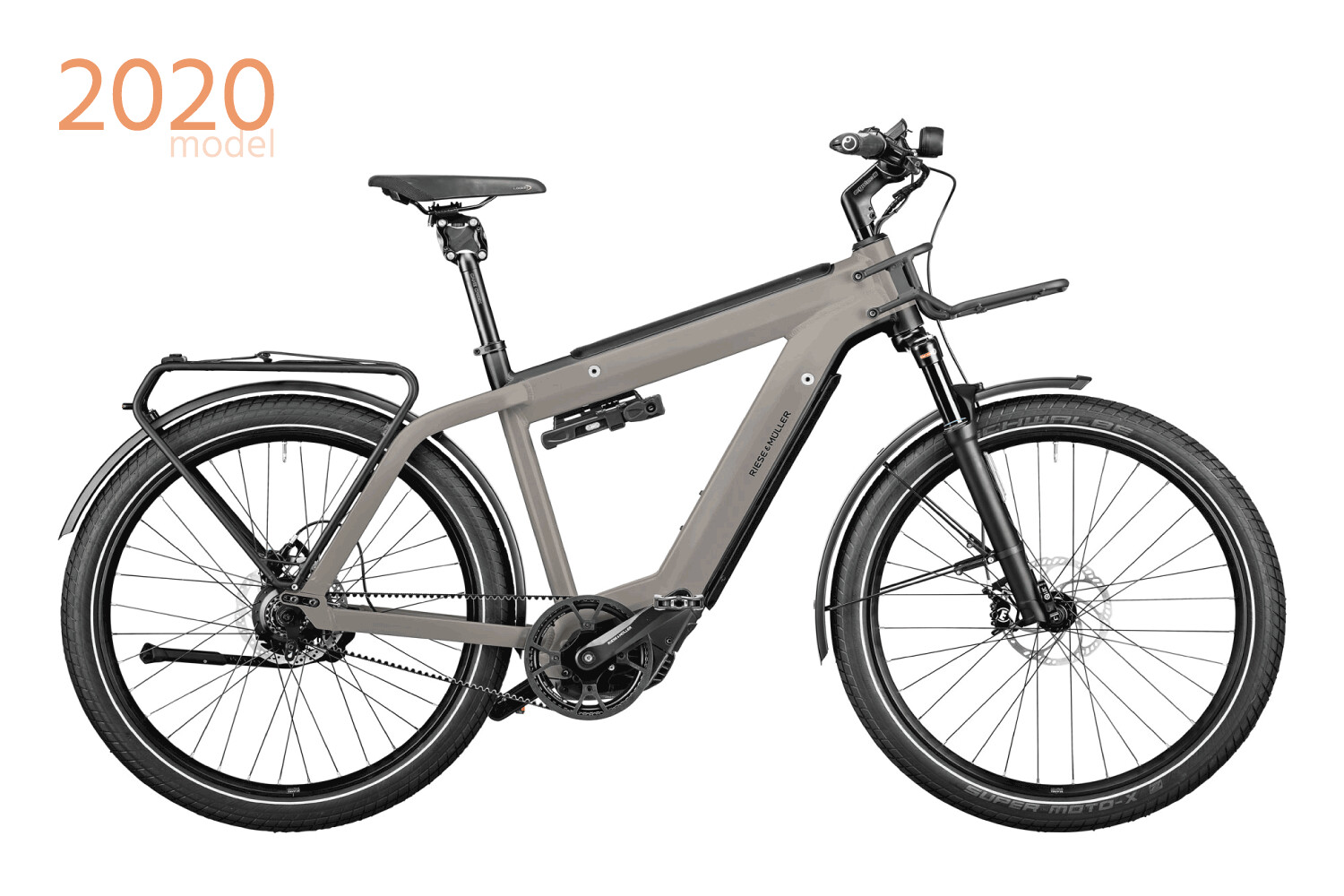 RIESE & MULLER • Supercharger2 GT rohloff (49 Silver Kiox GX)