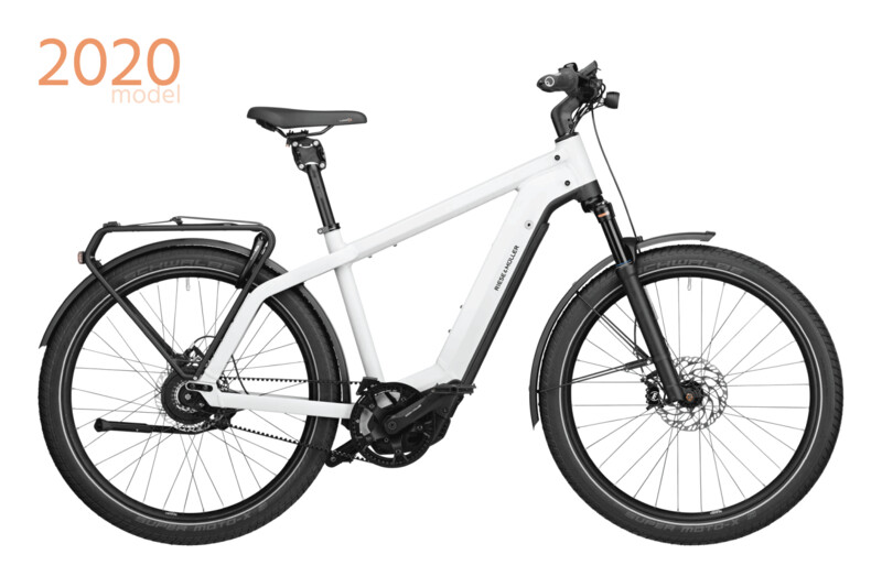 RIESE & MULLER • Charger3 GT rohloff (56|White|Kiox|FrontCarrier)
