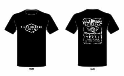 Jack inspired Black Diamond T-Shirt
