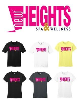 "New Heights Tee ""white"""
