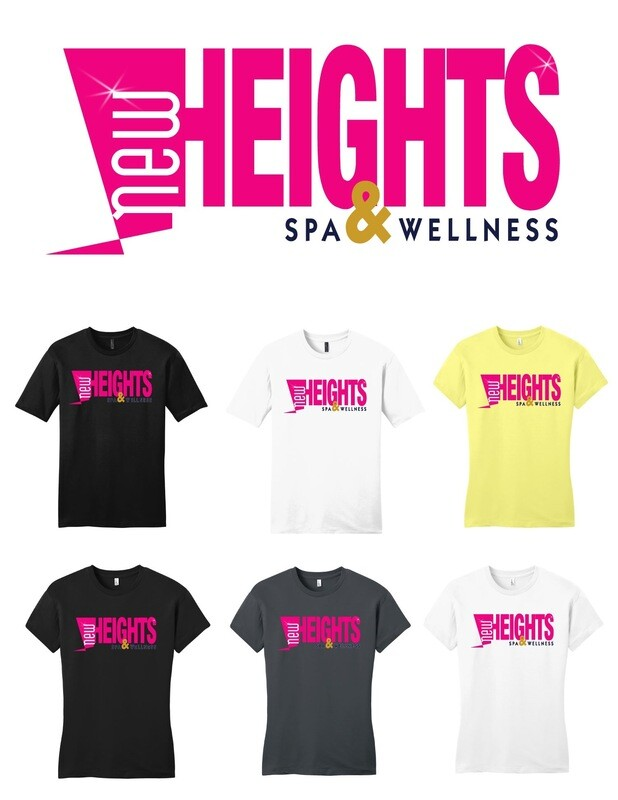 "New Heights Tee ""white"""