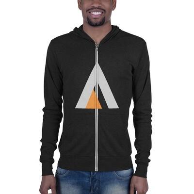 Ascend Lightweight Unisex zip hoodie