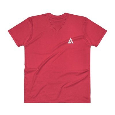 V-Neck T-Shirt with Ascend Logo