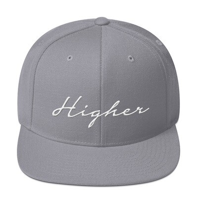 """Higher"" Snapback Hat"