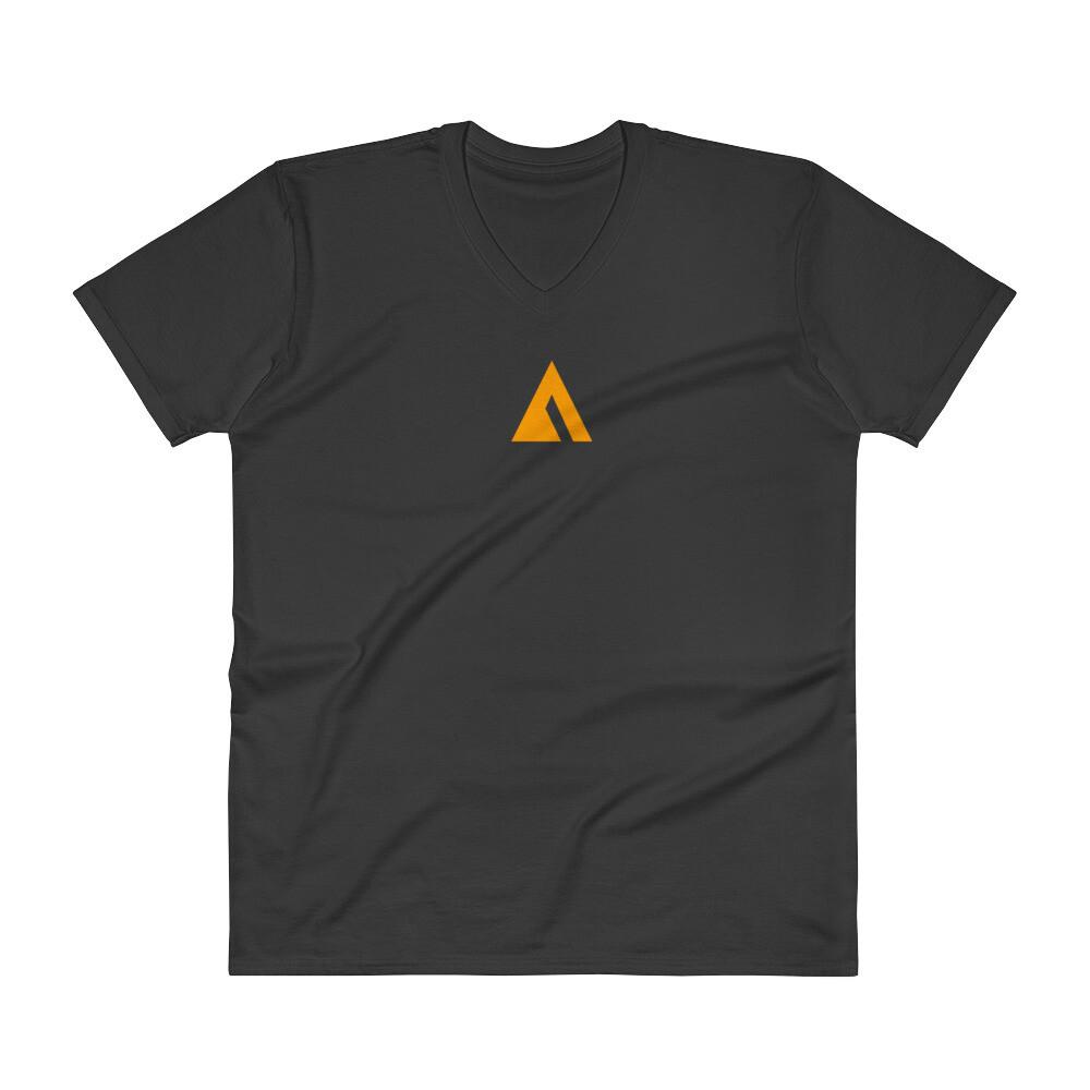 """""""Ascend To Transcend"""" Logo V-Neck T-Shirt"""