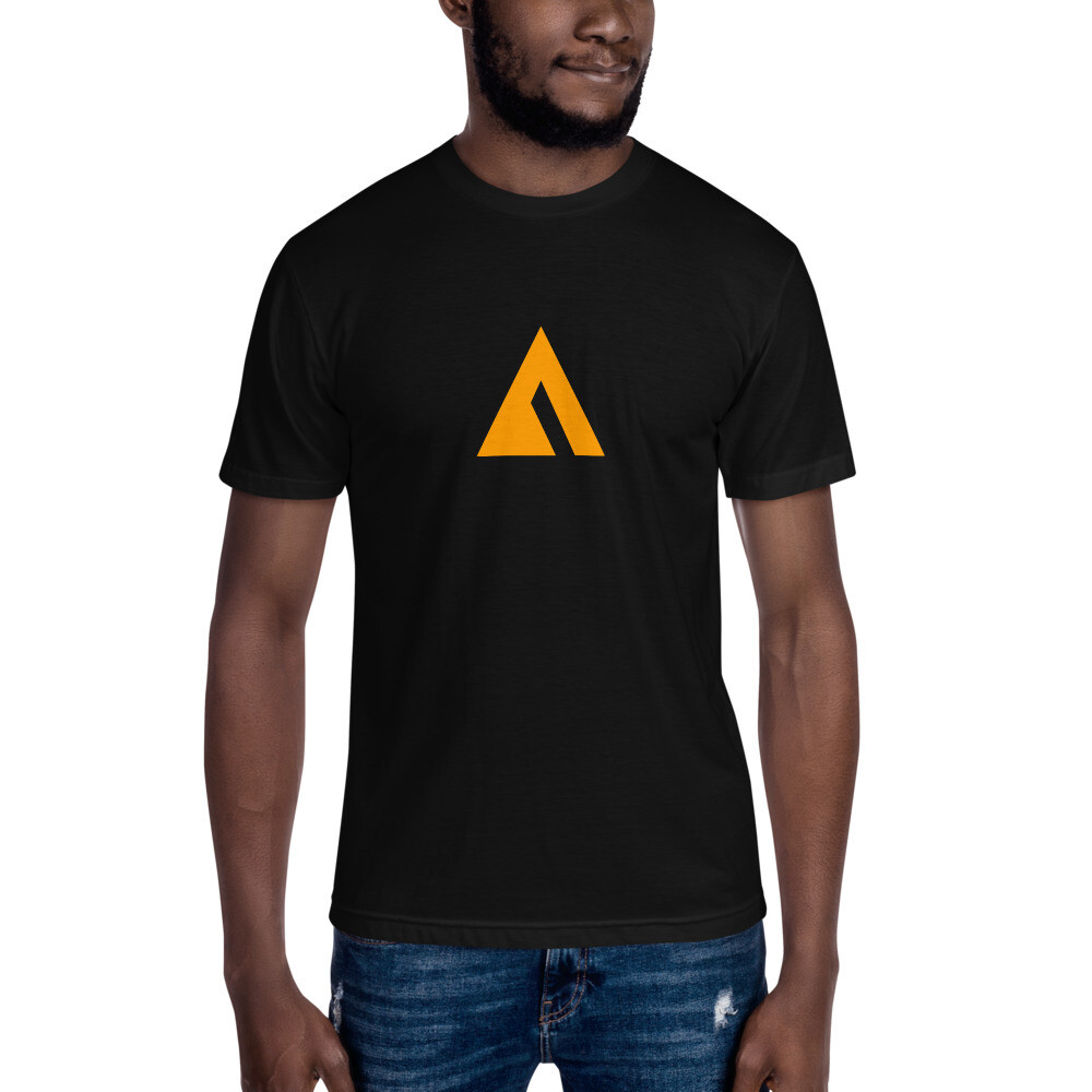 """Unisex Crew Neck Tee with """"Ascend to Transcend"""" Logo"""