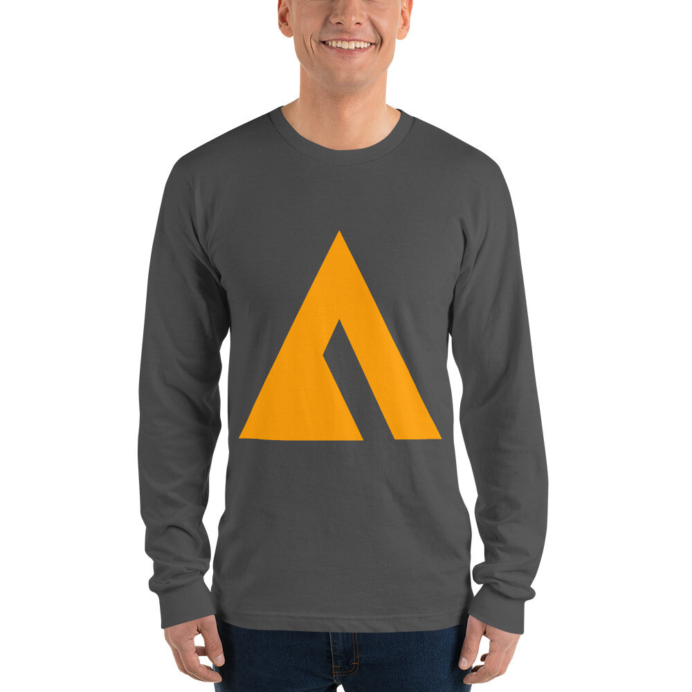"""Long sleeve t-shirt with Large """"Ascend to Transcend"""" Logo"""