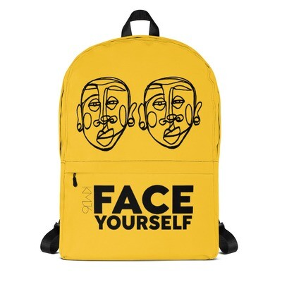 'Face Yourself' Backpack
