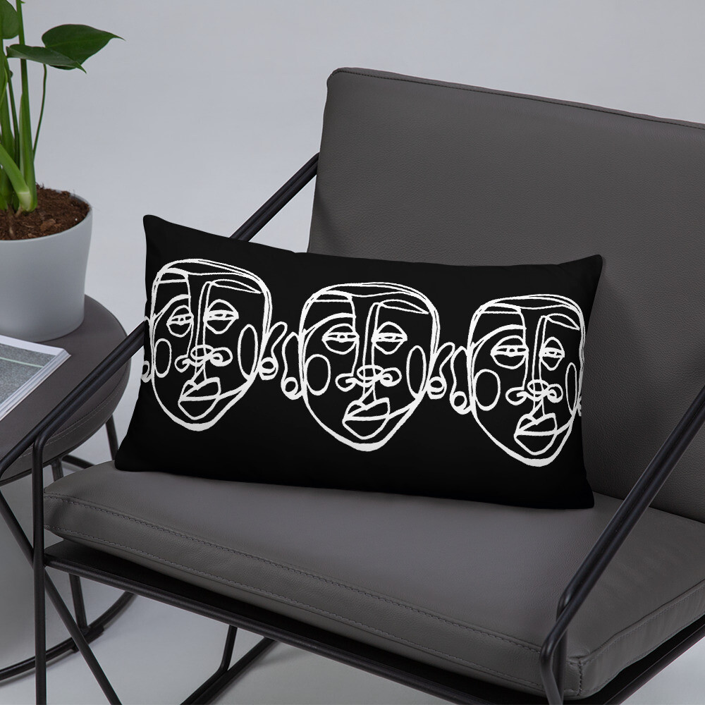 'Face Yourself' Pillow