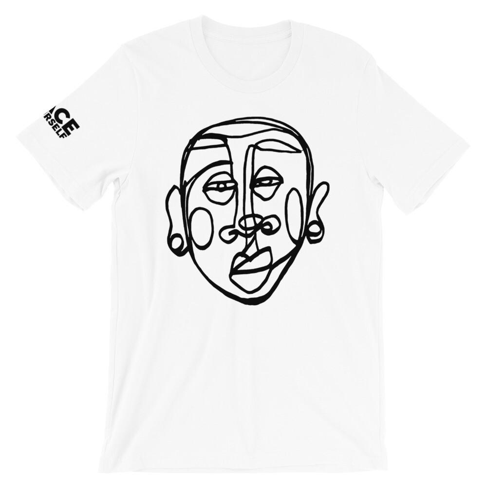 'Face Yourself' Short-Sleeve Unisex T-Shirt (Flavas)