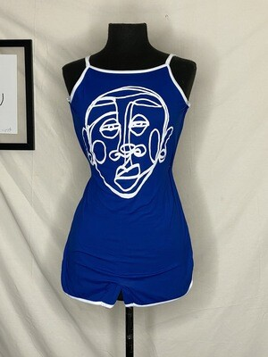 'Face Yourself' Romper