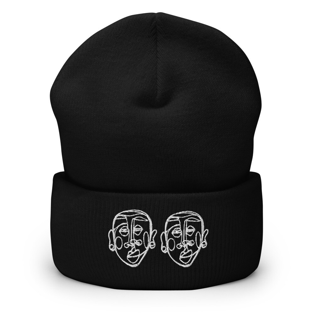 'Face Yourself' Face Beanie