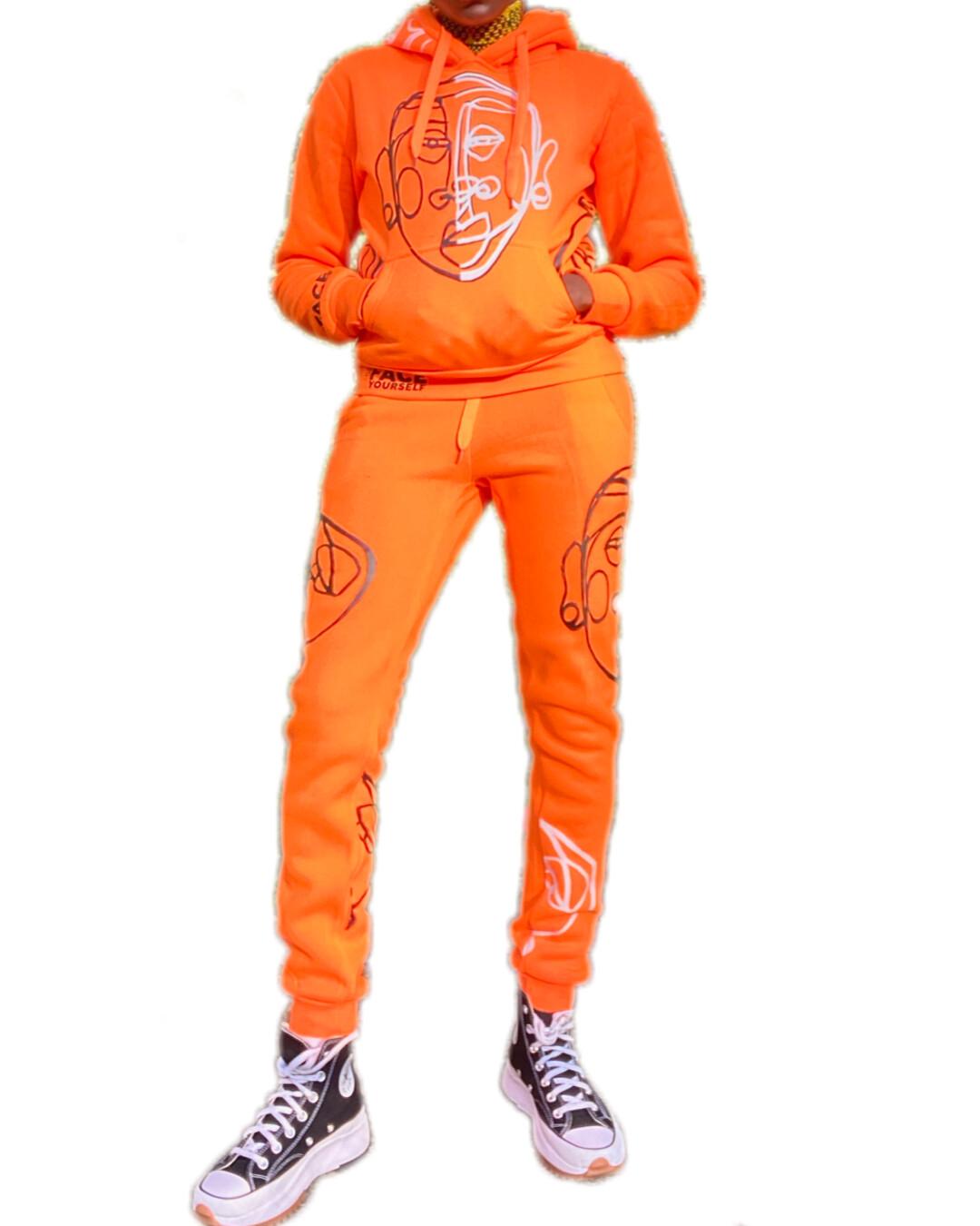 'Face Yourself' 2. Piece Sweatsuit