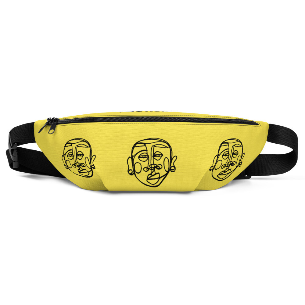 'Face Yourself' Fanny Pack
