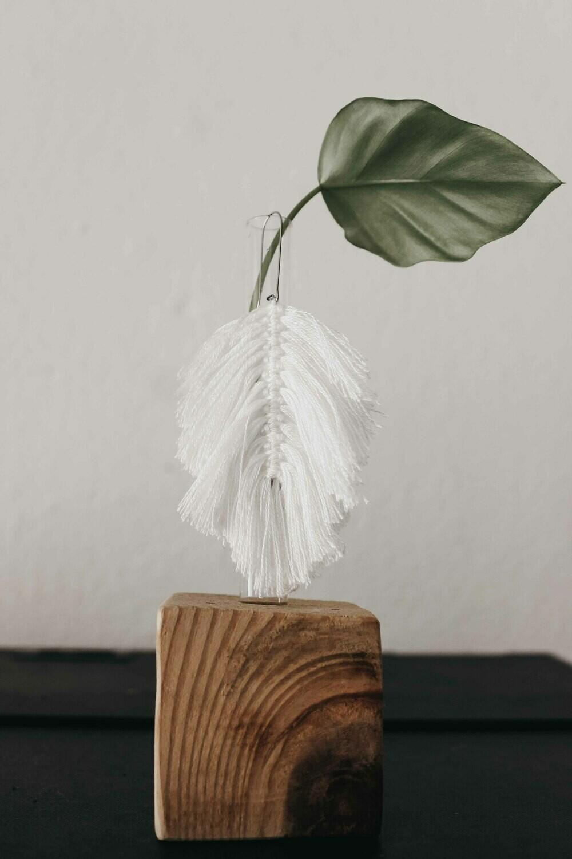 Bamboo Leaf Earring Large