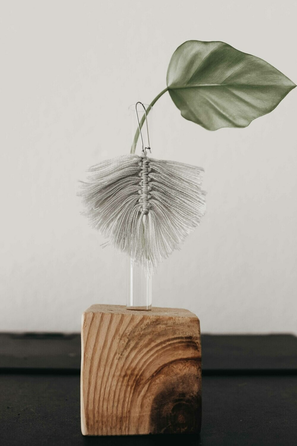 Cotton Leaf Earring Small