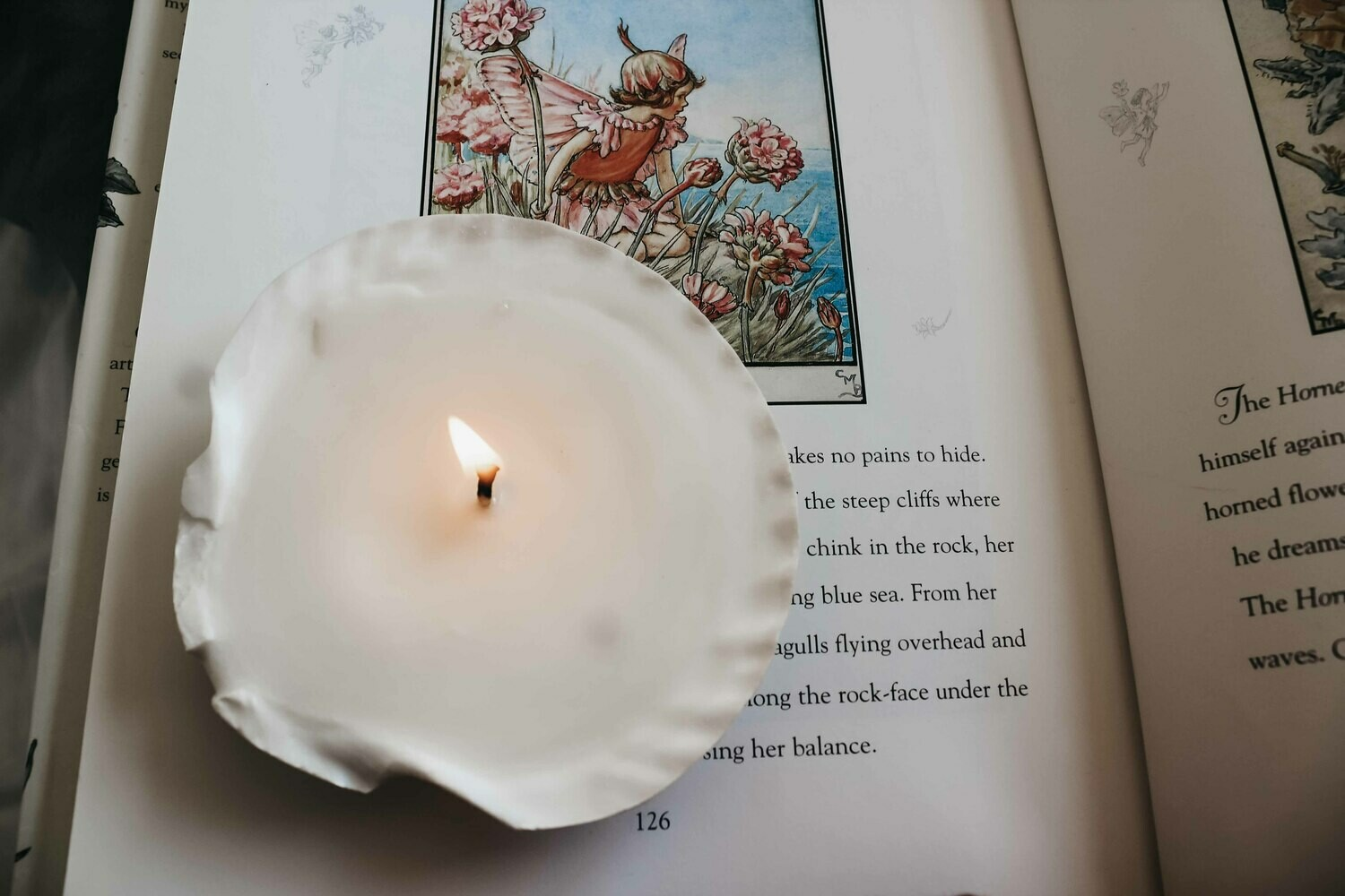 Mermaid Shell Candle