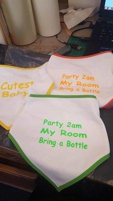 Baby Bibs, 3 Pack