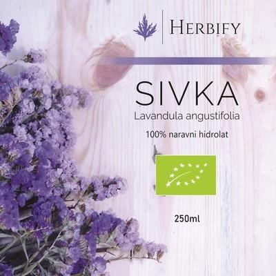 100% naravni hidrolat prave sivke (250 ml)