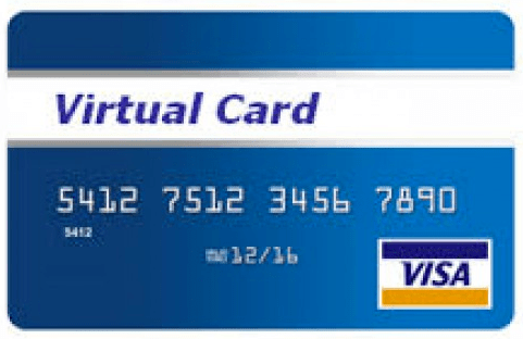 VIRTUAL VISA CARD K6
