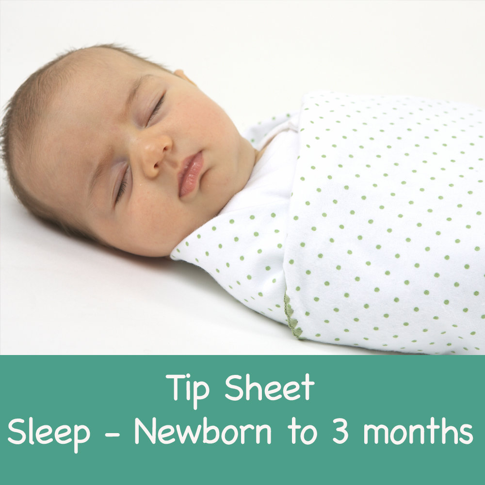 Sleep Guidance - Newborn to 3 months