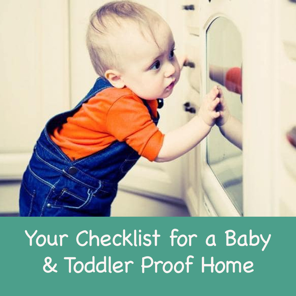 30 Tips for a Baby and Toddler Proof Home