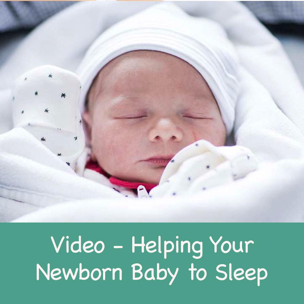 Helping Your Newborn Baby to Sleep