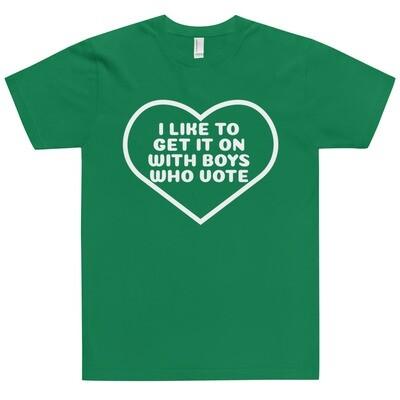 Boys Who Vote T-Shirt