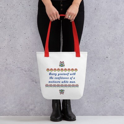 Mediocre White Men Tote bag