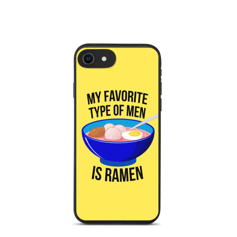 Ramen Biodegradable iPhone Case
