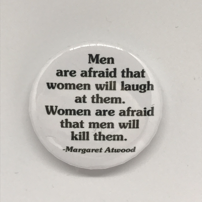 Margaret Atwood Button