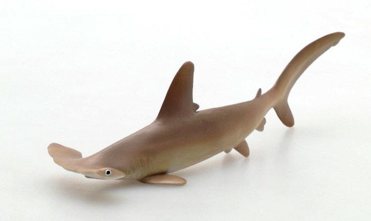 Scalloped Hammerhead Shark PVC Rubber Model Toy