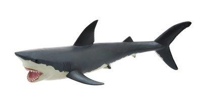 Great White Shark PVC Rubber Model Toy