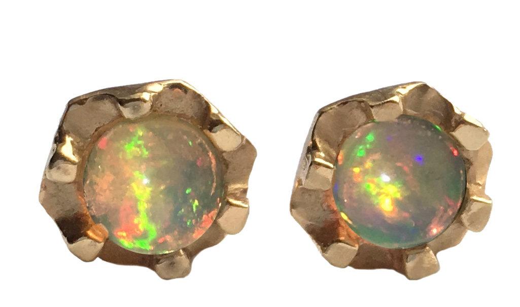 Opal studs