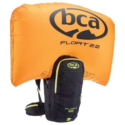 Рюкзак лавинный BCA FLOAT 22 2.0 (Black/Lime, OS)