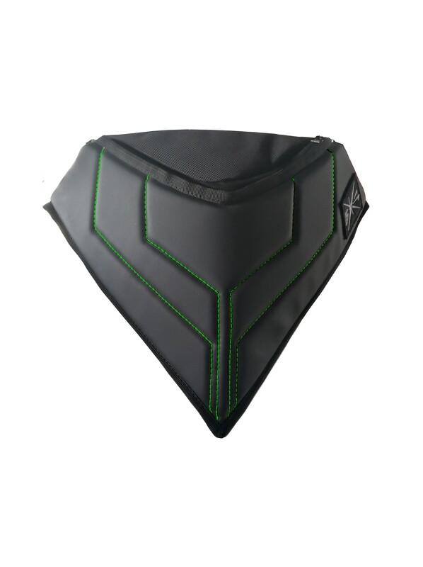 Сумка ветрозащитная на снегоход (зеленый)