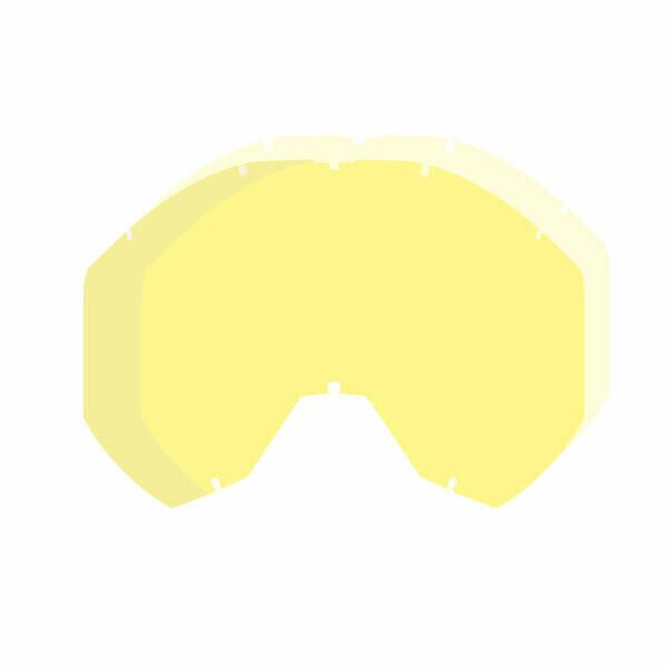 Стекло для очков Radius Pro Goggle Dbl Lens Yellow Tint