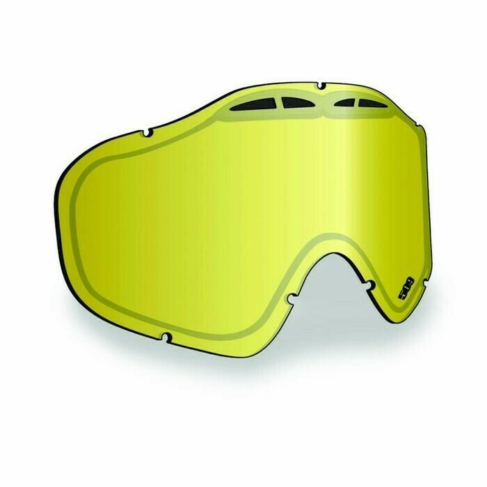 Линза 509 Sinister X5 Gold Mirror/Yellow Tint 509-X5LEN-13-GD