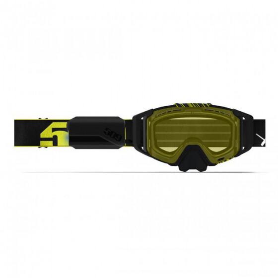 Маска 509 Sinister X6 Ignite с подогревом, взрослые (Black Hi-Vis)