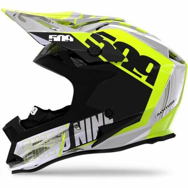 Шлем 509 Altitude Carbon Fidlock, взрослые (Chromium Hi-Vis, XL)