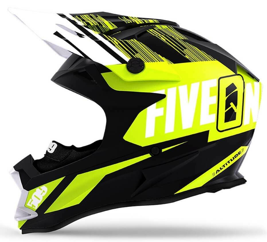 Шлем 509 Altitude Fidlock, взрослые (Particle Hi-Vis, XL)