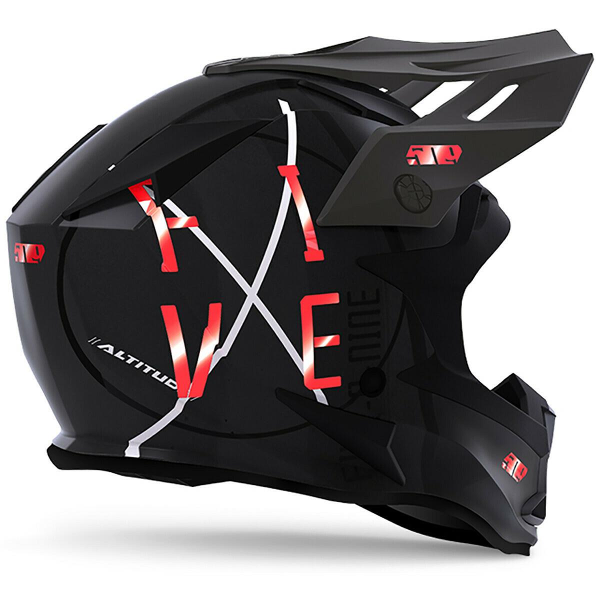 Шлем 509 ALTITUDE Fildlock, взрослые (Black Aura M)