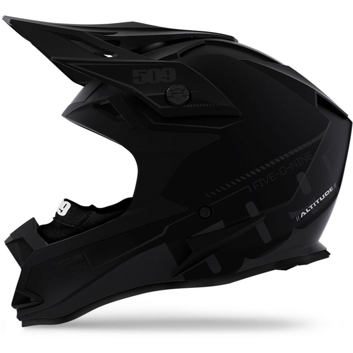 Шлем 509 ALTITUDE Fildlock(ЕСЕ),  (Black Aura M) LG