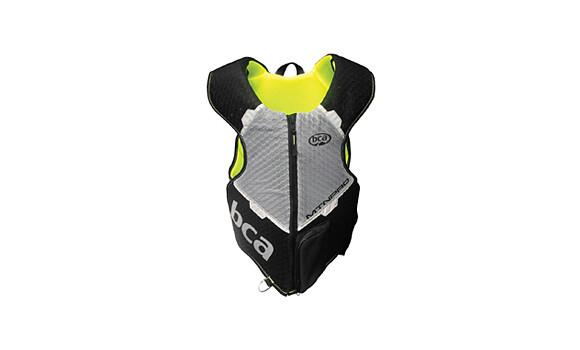 Защита тела BCA MtnPro Vest, взрослые, (Black/Yellow, M/L)
