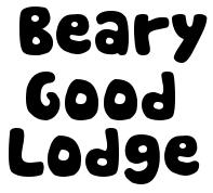 Security Deposit Beary Good Lodge