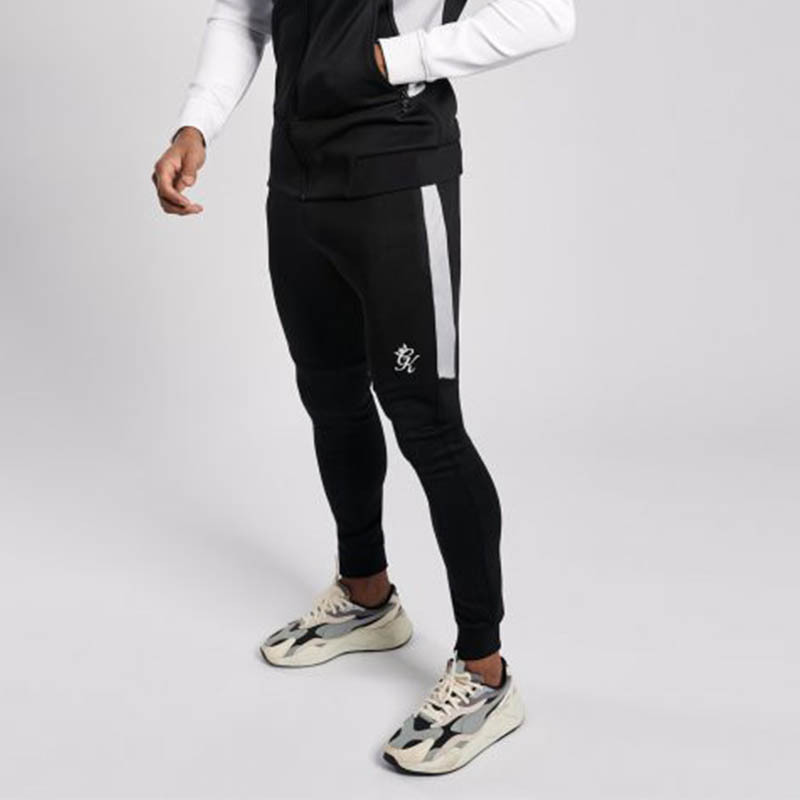 Gym King Chiba Track Bottoms Black/Grey AAHGM8X2Y1TBR