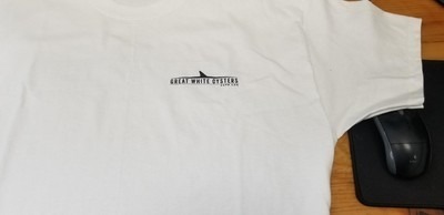 Great White Oyster Short Sleeve T-shirt