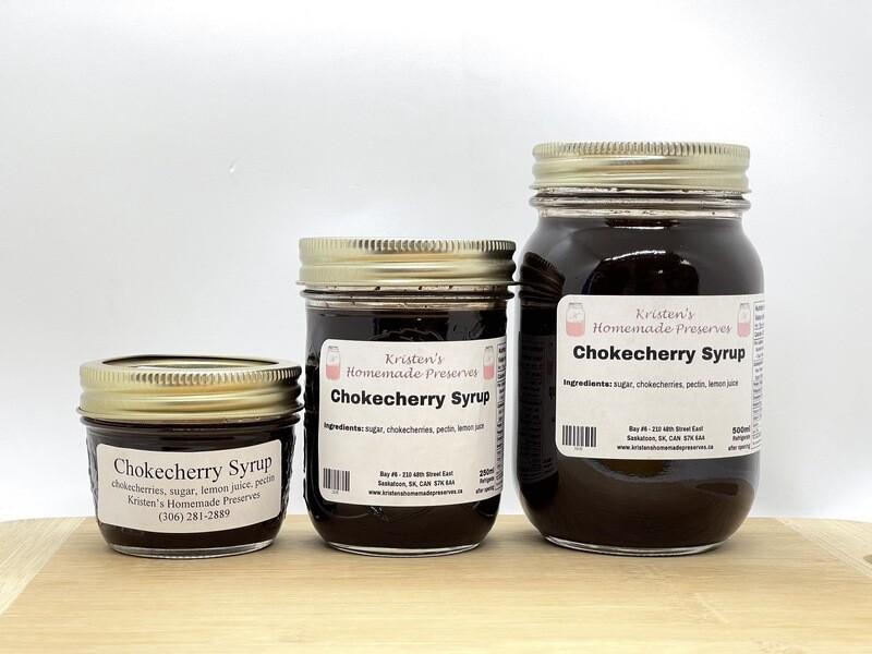 Chokecherry Syrup